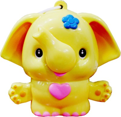 scrazy yellow Baby elephant First music Bell