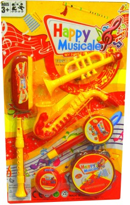 Shop4everything Happy Musical Set , Pack Of 7 ( Non Electronic )