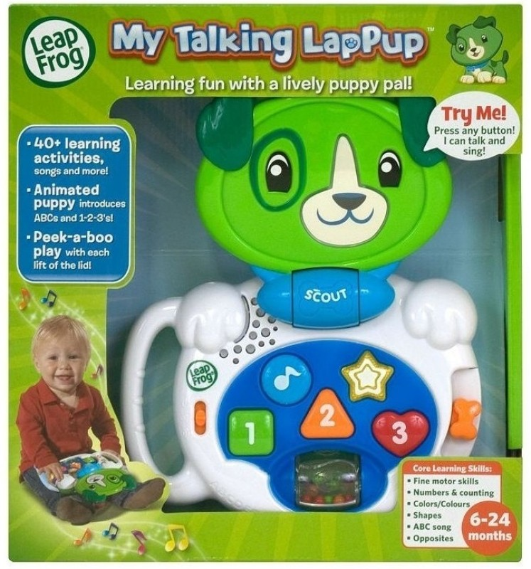 LeapFrog My Talking Lappup(Multicolor)