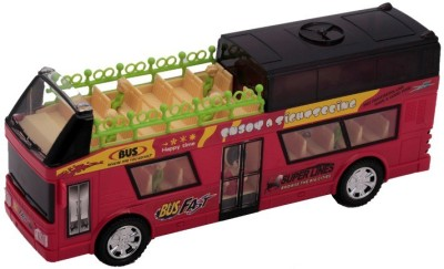 Happiesta Musical Fun Bus(Multicolor)