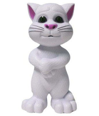 Zaprap White Tom Cat For Kids