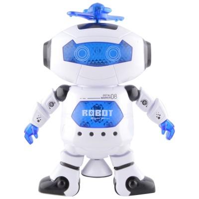 Shop & Shoppee Musical Dancing Robot with 3D Lights