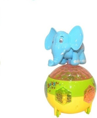 Rey Hawk B/O Super Music Elephant Mischievous Toys