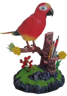 Khareedi Heartful Singing Bird Shaped Pen Holder Kit