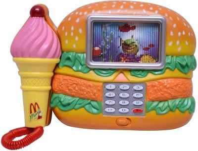 Shop & Shoppee Ham-Burger Shape Musical Phone