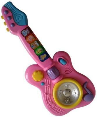 Vaibhav Toys Musical Magic Guitar - Pink