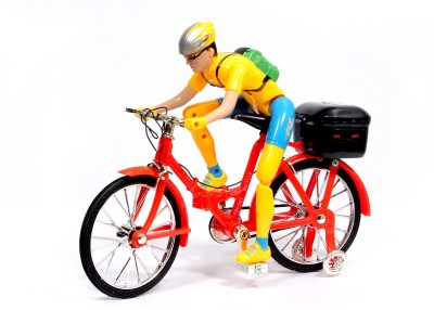 Shape n Style Musical Battery Operated Bicycle With Light Effects & Sound