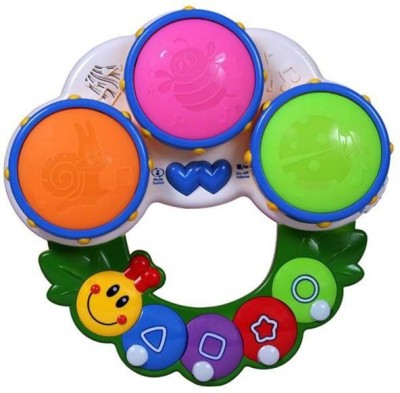 Prro Caterpillar Shaped Learning Drum For Growing Genius