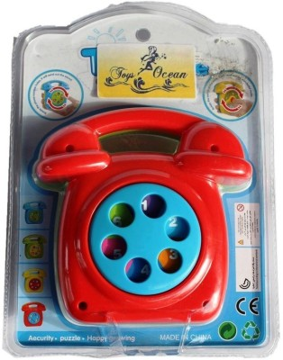 Toysocean Telephone Musical Toy with dial