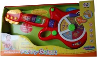 Playwell Funny Guittar(Multicolor)
