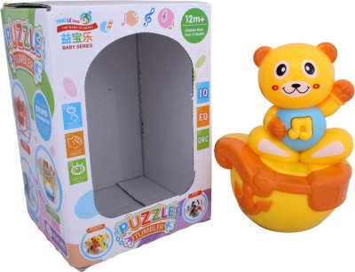 AV Shop Bear Shape Musical Roly Poly Toy