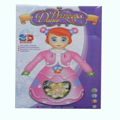 RANATRADERS pink musical doll