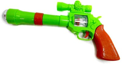 Turban Toys Projection musical Gun for kids