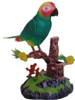 Vaibhav Heartful Singing Bird Shaped Pen Holder Kit(Green)