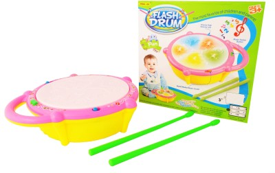 Just Toyz Multicoloured Flash Drum