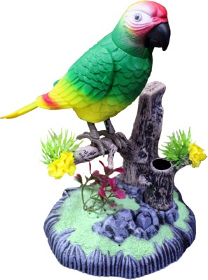 Scrazy Heartful Musical Bird Sound Activated Toy with Pen Stand