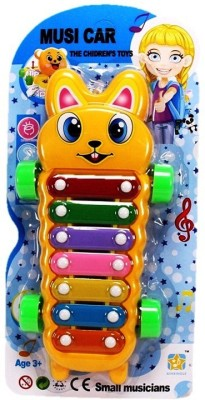 Vacfo Music Car 2n1 Xylophone & Car