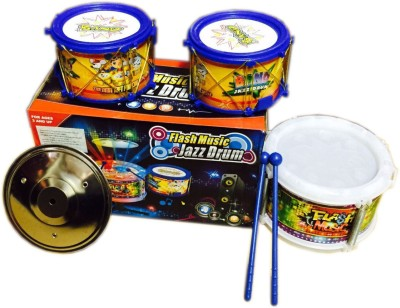 Rahul Toys Musical Flash Drum For Kids