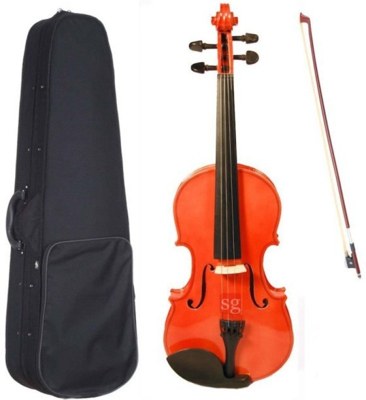 SG Musical Violin with case(Brown)
