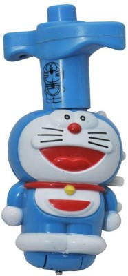 AV Shop Doraemon Laser Light Spinning Top With Music