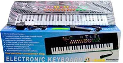 Parv Collections 54 Keys Electronic & Musical Keyboard Piano(Black)