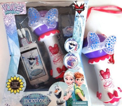 GoMerryKids Frozen MP3 Sing Along Voice MIC Kids
