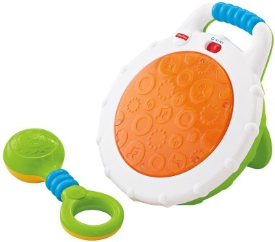 Fisher-Price Jammin Beat Drum Set-BLW43