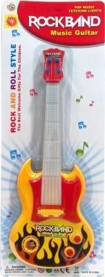 Toysocean Rock band Music Guitar Yellow