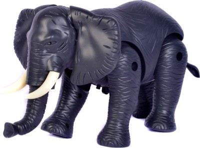 Adiestore Elephant Battery Operated Toy Animal For Kids
