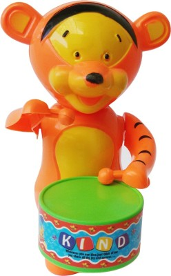 Abhika Studio Tiger Drum Toy