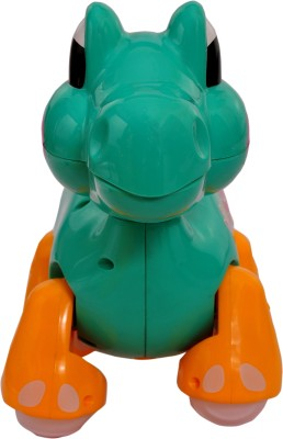 Mera Toy Shop B/O Cartoon Dino-Green