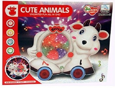Zaprap Musical Cute Animal With Sound&Flashing Lights For Kids