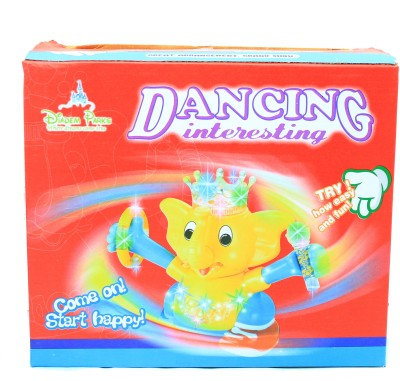 Parv Collections Dancing Elephant