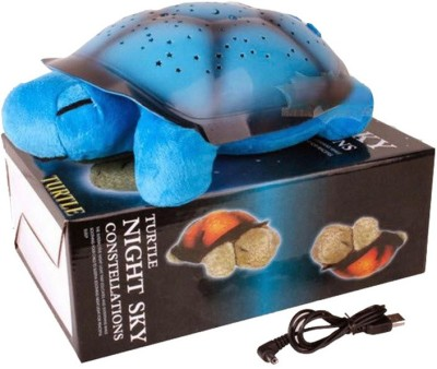 ShopMeFast Turtle Night Sky Constellation Projector Light Lamp With Music, Usb Cable