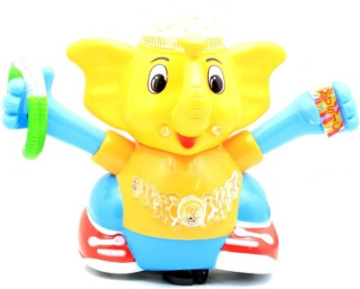 Turban Toys Dancing Elephant With Light & Sound