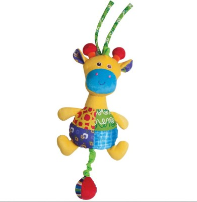 Parkfield Premium Developmental Baby Learning Toy - PULL STRING MUSICAL PAL (Camel)(Multicolor)