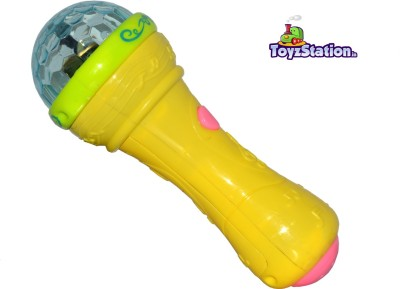 Toyzstation Fashion Microphone with Flashing Lights