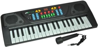 zaprap Multicolor Plastic Musical Electronic 3768 Piano Keyboard