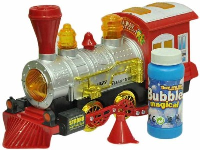 Prro Bubble Producing Train Engine With Music & Light