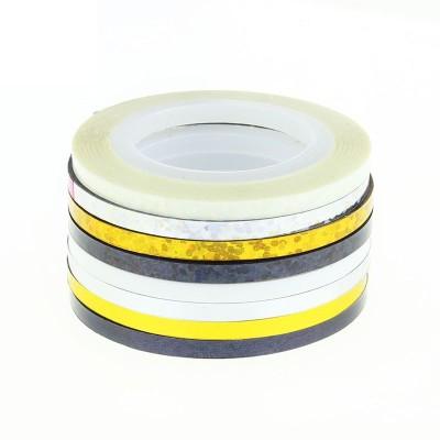 Ski 3mm Nail Art Stickers Striping Rolls For Decoration