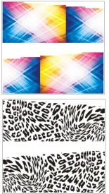 Jenna Manicure Water Transfer Nail Art Decals Stickers- Sapphire Series NR-277(White)