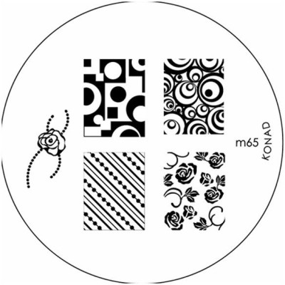 Konad Stamping Image Plate M65