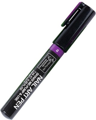 TopNail Manicure nail art work pen Purple Color(Purple)