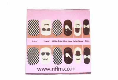 NFLM Designer Nailwear Sherlock Print