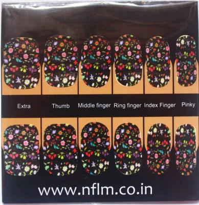 NFLM Designer Nailwear Floral Blossom