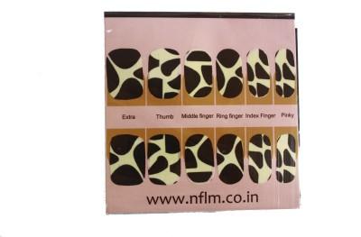NFLM Designer Nailwear Crackle Print