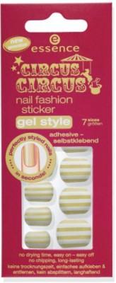 Essence Circus Nail Fashion Sticker Gel Style 70473