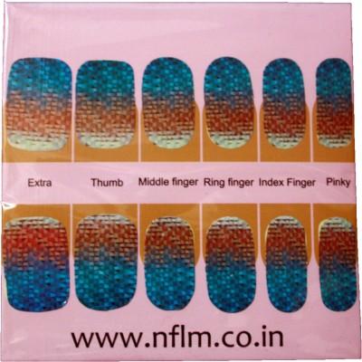 NFLM Designer Nailwear Wicker Print