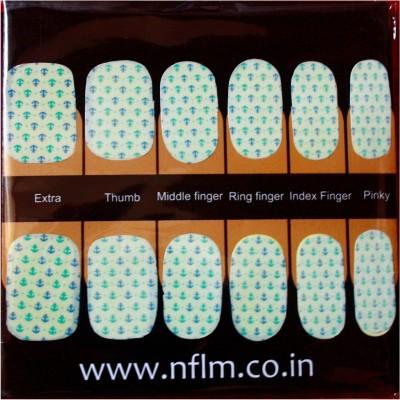 NFLM Designer Nailwear Anchor Print