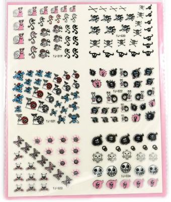 SPM big pack nail art stickers 10